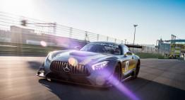 Bestia neîmblânzită. Un nou clip cu Mercedes-AMG GT3