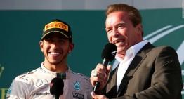 """Arnold """"Terminator"""" Schwarzenegger adoră Formula 1: """"Mă voi întoarce!"""""""