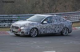 Fotografii spion cu BMW Seria 1 Sedan. Rivalul CLA-ului surprins din nou