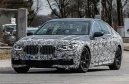 Noul BMW Seria 7 – Rivalul lui Mercedes S 65 AMG spionat în haine M