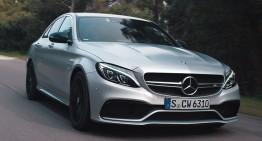 Forță a naturii: Mercedes C63 AMG