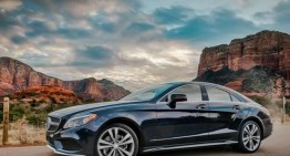 Visul american cu Mercedes-Benz CLS