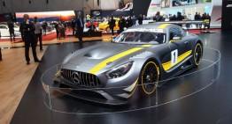 GENEVA LIVE: Mercedes-AMG GT3, vedeta Salonului