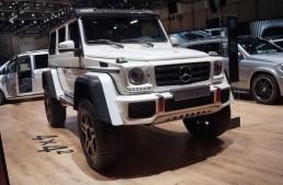 GENEVA LIVE: Mercedes-Benz G500 4×4², intimidare la maximum