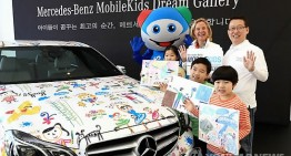 Mercedes-Benz Mobile Kids – Desene pe Mercedes