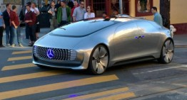Mercedes-Benz F 015 Luxury in Motion, pe străzile din San Francisco