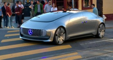 Mercedes-Benz F 015 Luxury in Motion, pe străzile din San Francisco