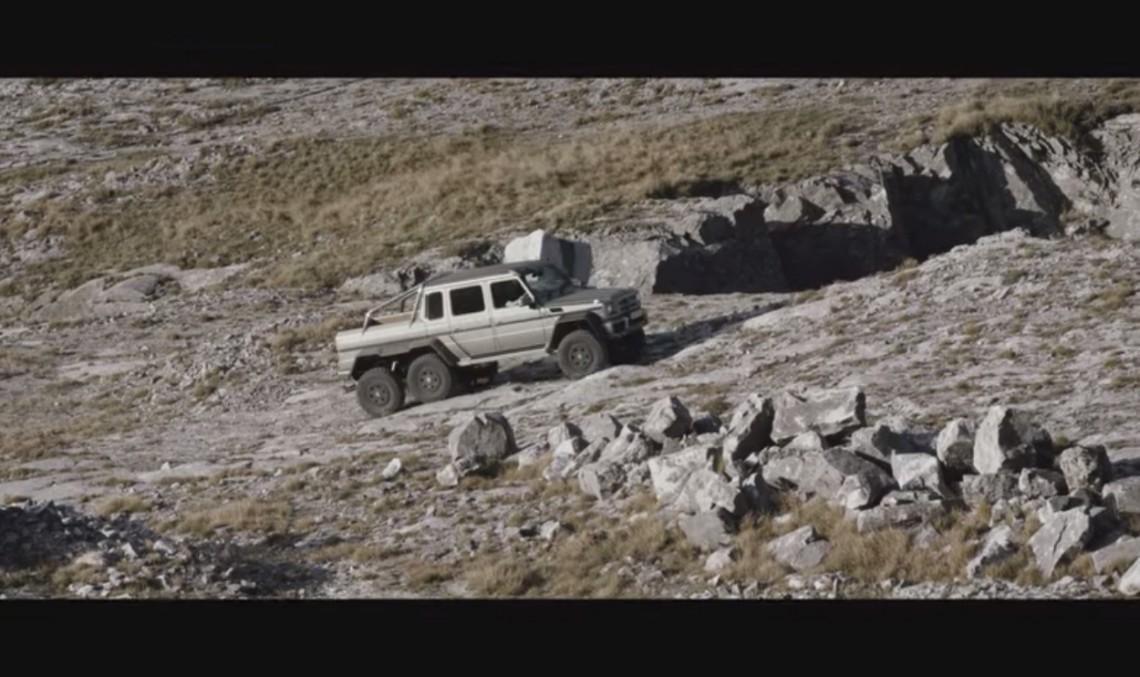 Mută munții cu Mercedes-Benz G 63 AMG 6×6