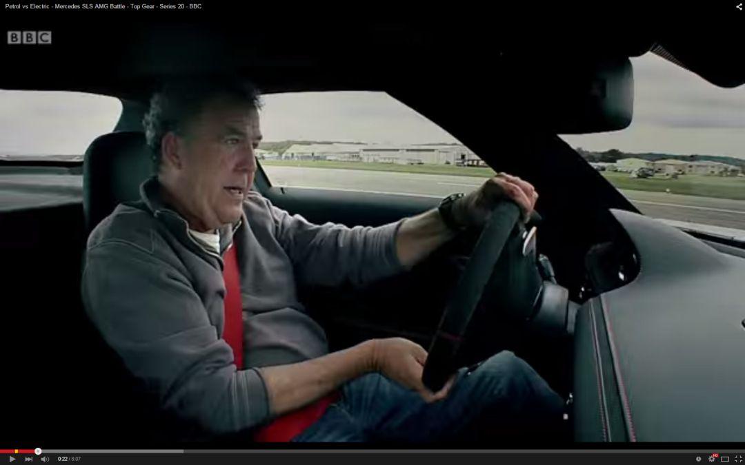 TOP 5 teste cu Mercedes realizate de Jeremy Clarkson