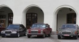 Întâlnirea națională MBClassics Mercedes Benz Club