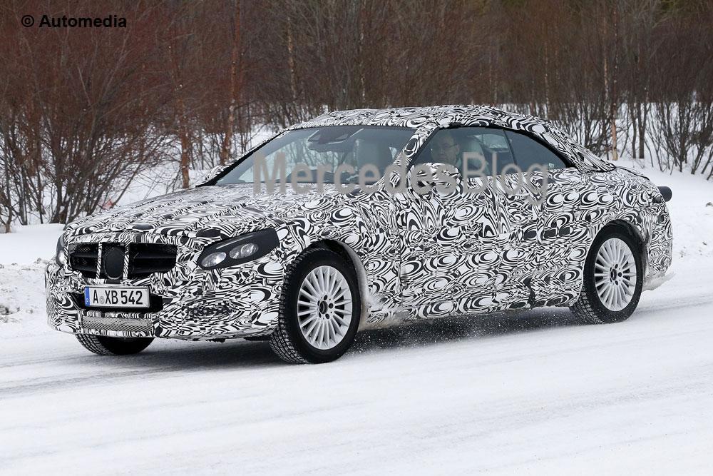Mercedes-Benz C-Class Cabrio – cele mai noi detalii şi poze spion