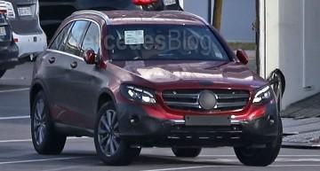 Mercedes GLC fără camuflaj