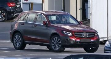 Mercedes-Benz GLC ar putea fi dezvăluit oficial în iunie