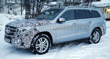 Cele mai noi poze spion cu Mercedes GLS facelift