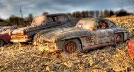 O pasiune uriașă pentru modele Mercedes-Benz minuscule