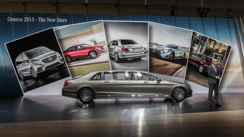 Mercedes-Benz scoate așii din mânecă la Salonul Auto de la Geneva