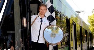 """Nico Rosberg într-un """"tramvai numit Dorință"""""""