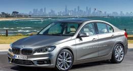 Simulare digitală pentru noul BMW Seria 1 Sedan – rivalul lui CLA