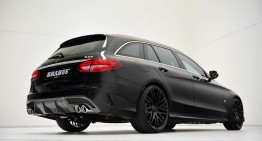 Mercedes-Benz Clasa C AMG Line break modificat de Brabus