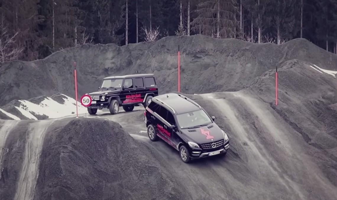 Experiența anuală off-road Mercedes-Benz Kitzbühel