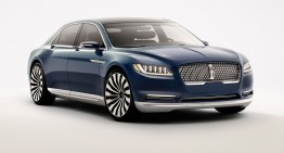 Un nou rival de peste ocean pentru Mercedes-Benz: Lincoln Continental