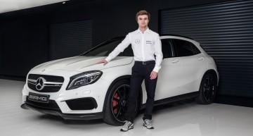 Uite un clip cu Lucas Auer, noul-venit în echipa Mercedes-Benz DTM