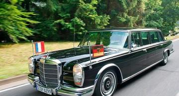 50 de ani de noblețe. La mulți ani, Mercedes 600 Pullman!
