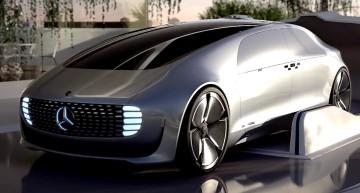 Viitorul conform conceptului Mercedes-Benz F 015 Luxury in Motion