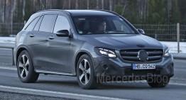 Mercedes-Benz GLC – cele mai noi poze spion
