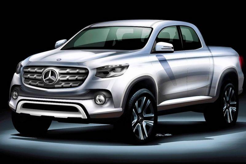 Primul pick-up din istoria Mercedes s-ar putea numi Mercedes-Benz X-Class