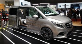 Jocurile plug-in de la Geneva: Mercedes-Benz V-ision e Concept (UPDATE VIDEO)