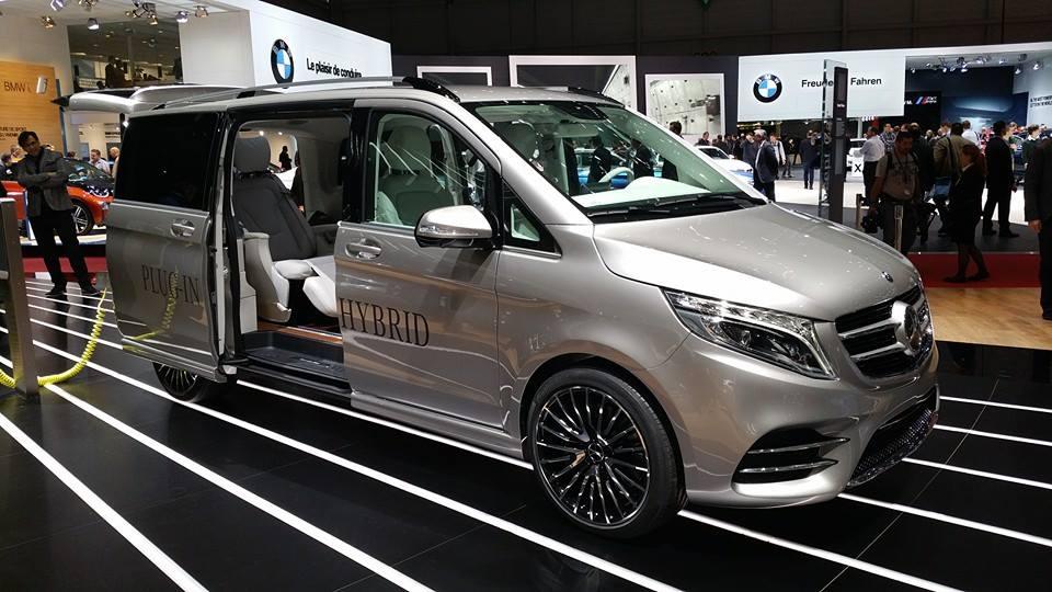 Jocurile plug-in de la Geneva: Mercedes-Benz V-ision e Concept (UPDATE VIDEO)