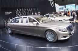 GENEVA LIVE: Regele luxului – Mercedes-Maybach S-Class Pullman