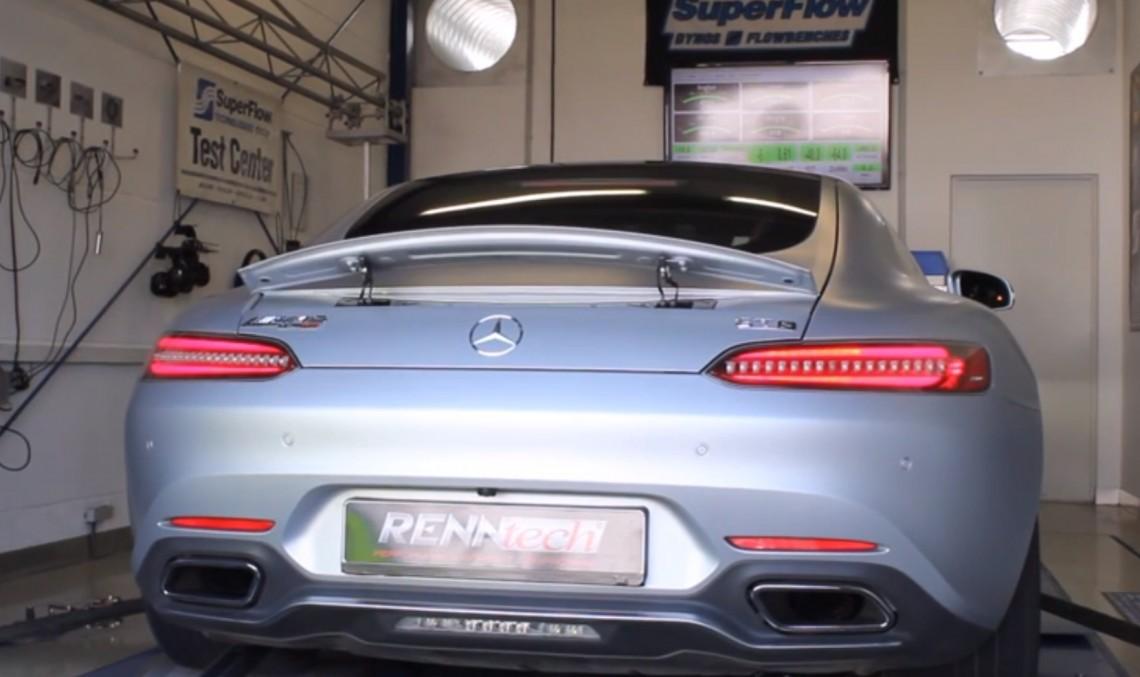 Renntech pregătește primul Mercedes-AMG GT tunat