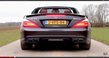 Cum sună V8-ul biturbo AMG  de 5,5 litri de la SL 63 AMG (video)