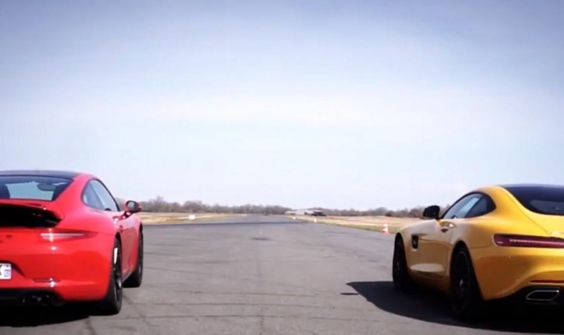 O nouă provocare: Mercedes-AMG GT S vs Porsche 911 Carrera