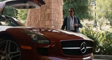 Al Pacino conduce un SLS AMG in noul său film: o stea pentru un star