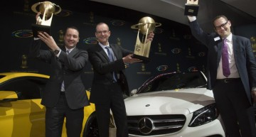 Iar premiul merge la Mercedes-Benz C-Class