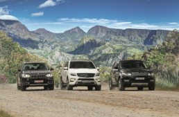 Liga campionilor: Mercedes ML 350 Bluetec, BMW X5 xDrive 30d, Range Rover Sport SDV6 HSE