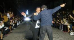 Spărgătorul de show-uri de modă – Un pensionar ajunge pe scenă la Săptămâna Modei Mercedes-Benz