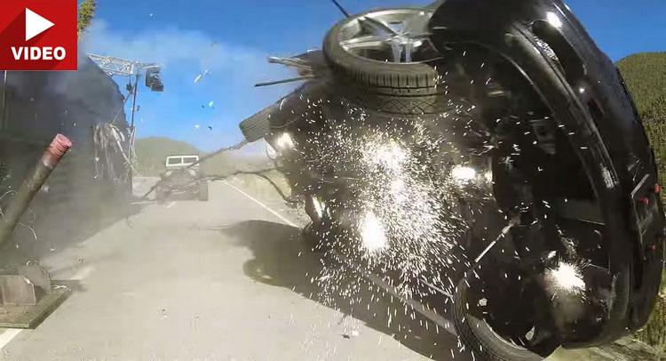 Mercedes-ul zburător și cascadoriile nebunești din Fast & Furious 7
