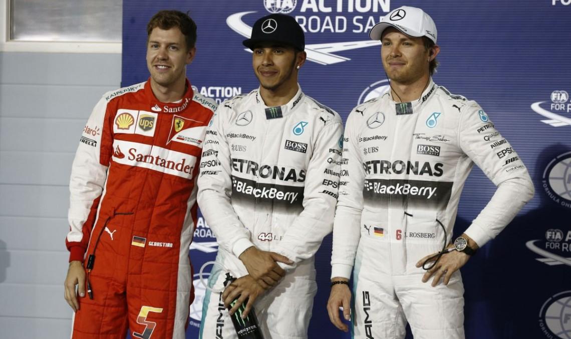 Calificari Bahrain F1: Hamilton il invinge pe Vettel si obtine pole-position