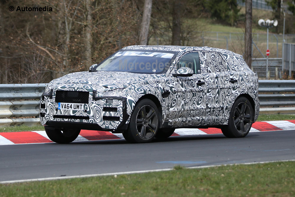 Jaguar F-Pace a fost surprins din nou – fotografii spion