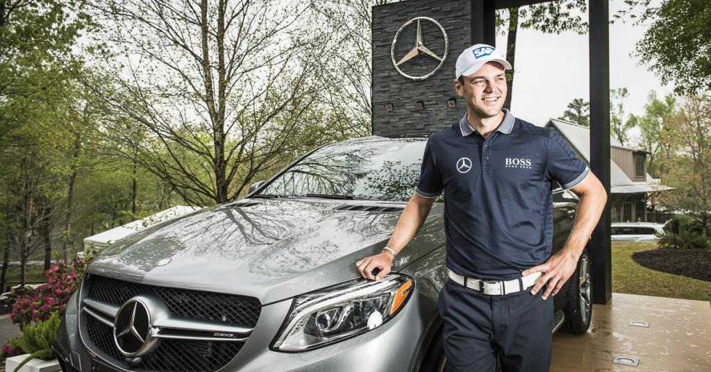 Martin Kaymer golf GLE Coupe