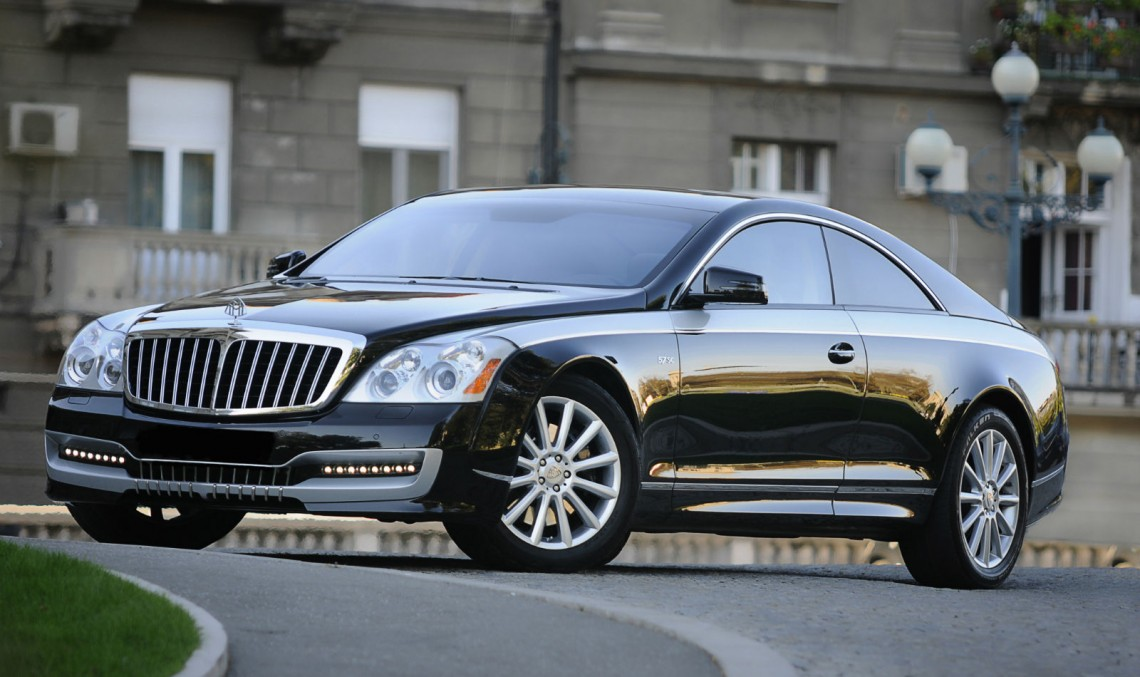 DC Dream Cars reînvie Maybach 57 S Coupe