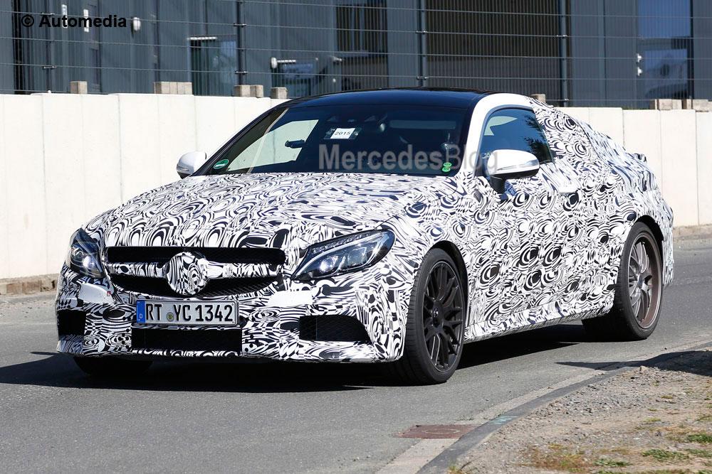 Noul Mercedes-AMG C 63 Coupe își arată fața în premieră