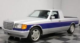 Avem deja o camionetă Mercedes-Benz: camioneta S-Class