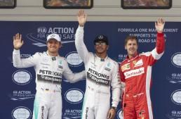 China F1: Al treilea pole pentru Hamilton