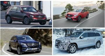 2015: Anul SUV-urilor pentru Mercedes-Benz