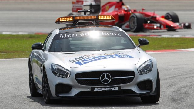 Șoferul Safety car-ului